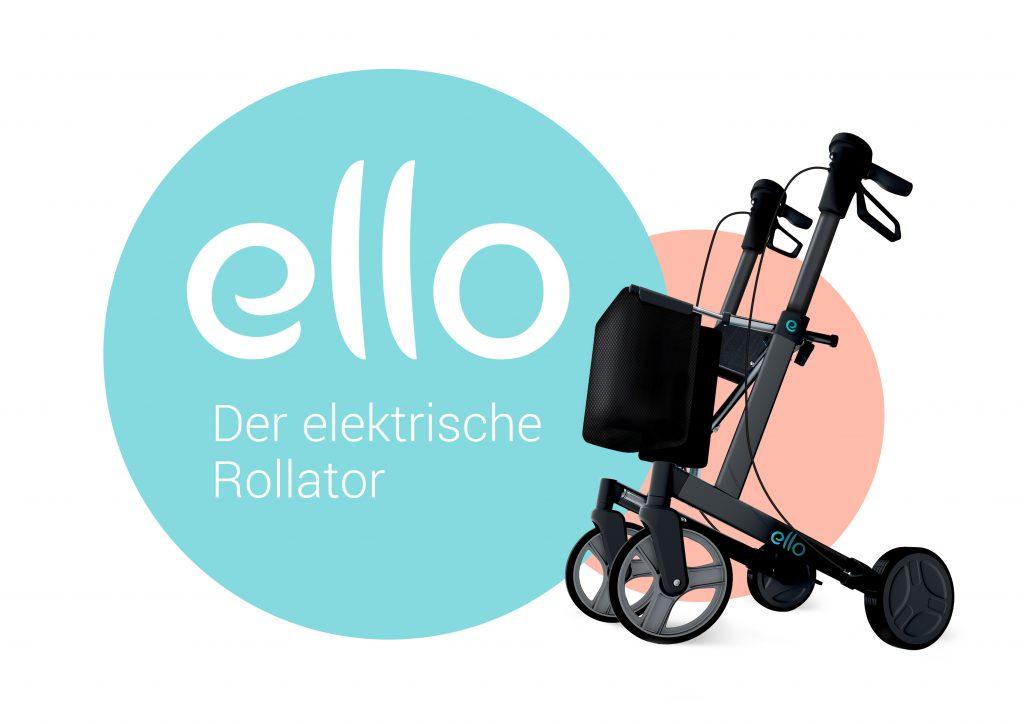 Elektrischer Rollator Ello