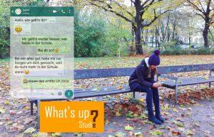 Beispiel WhatsApp Chat bei Depression