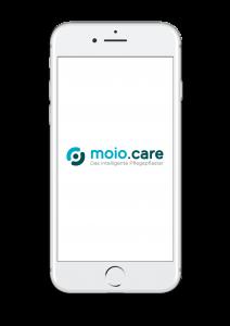 Smartphone Screenshot der App moio