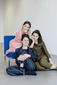 Foto von Johanna Dreyer, Nele Groeger und Luisa Weyrich