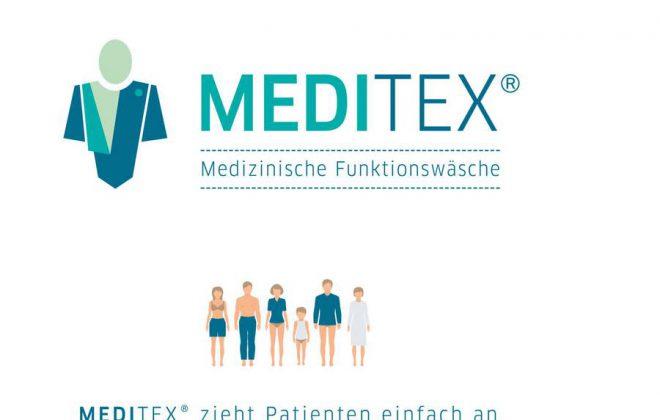 Logo von MediTex - Medizinische Funktionswäsche GmbH