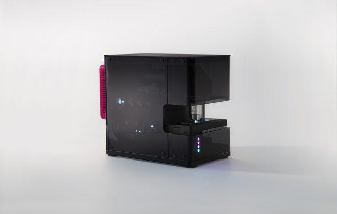 Minimic, ein kleines kompaktes und intelligent trainierbares Mikroskop zur Malaria-Diagnostik