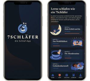 Digitales Training gegen Schlafstörungen mit 7Schläfer