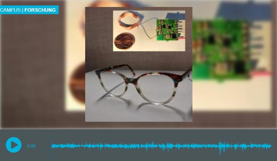 Innovative Sehhilfe für blinde Menschen. Campus Forschung_Podcast_I see